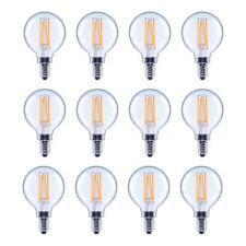 EcoSmart LED Light Bulb 40 Watt Equivalent G16.5 Globe Indoor Lighting 12 Pack