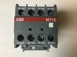 ABB N71E Contactor With 120 Volt Coil