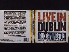 2 CD BRUCE SPRINGSTEEN / LIVE IN DUBLIN /