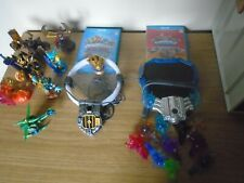 SKYLANDERS BUNDLE Wii U TRAP TEAM SUPERCHARGERS CRYSTALS FIGURES