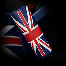 British Flag Style Red+Blue Car Safety Seat Belt Strap Shoulder Cover Pad G