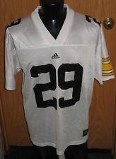 Vintage University of Iowa Hawkeyes Football Adidas Away White Jersey #29 XLarge