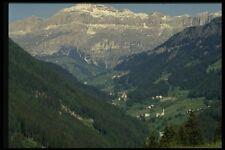 079091 villaggio della Valle DOLOMITE MURANO A4 FOTO STAMPA