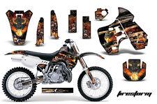Dirt Bike Graphic Kit Decal Sticker Wrap For Kawasaki KX500 1988-2004 FIRESTRM K