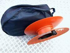 MAINS HOOK-UP CABLE STORAGE WHEEL REEL & STORAGE BAG CARAVAN MOTORHOME BOAT