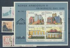 Norwegen Jahrgang 1986 postfrisch in den Hauptnummern kompl.....................