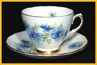 Colclough Nigella Cups & Saucers - 7878