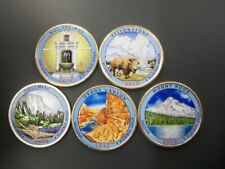 2010-2017 D COLORIZED NATIONAL PARK 40 COIN QUARTER SET