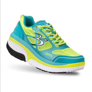 Gravity Defyer Women's GDEFY Ion Athletic Shoes Blue And Yellow