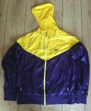 Nike Windrunner 48 Jacket Purple Yellow Shell Gym Retro Hood Windbreaker Running