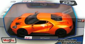 Maisto 2017 Ford GT Special Edition Die Cast Car Model 1:18 Scale ORANGE NEW