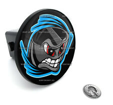 "2"" Tow Hitch Receiver Plug Cover Insert For SUV's & Trucks - ""HOCKEY SKULL"""
