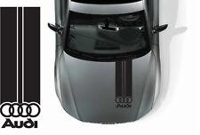 audi adesivo sticker logo fascia cofano auto A1 A2 A3 A4 S3 S4 Q3 Q4 Q5