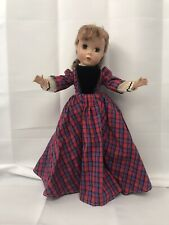 "Vintage Madame Alexander ""Jo"" Little Women Doll 14-15""  Late '40s/early 50's"