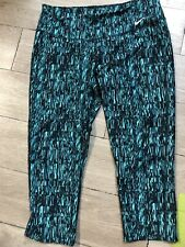 NIKE DRI-FIT Women's Running Yoga Capri Leggings Athletic Pants Size Large