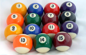 """2"""" Inches Replacement Pool Ball - Spare Pool Balls"""