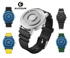EUTOUR New Innovative Blue Gold Magnetic Metal Multifunctional Watch Men's
