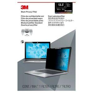 "NEW Genuine 3M PF133W9E Black Privacy Filter for 13.3"" 16:9 Touchscreen Laptops"