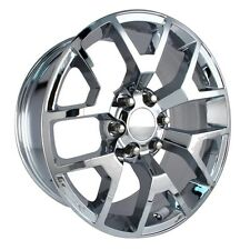 "4 NEW 2014 GMC Sierra Wheels 22x9 Chrome OE 22"" Silverado Denali Yukon Tahoe"