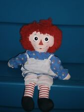 Vintage Raggedy Ann Cloth Doll by Hasbro 18 inch c1990s
