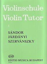 Método de Sandor violín tutor/Vol 1