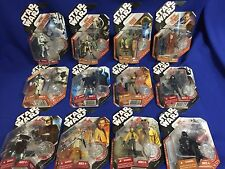 Star Wars 3.75 in Action Figures saga legends lot of 12 New And Rare 30th