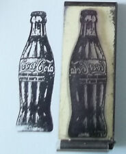 Vintage Soda Bottle rubber stamp by Amazing Arts soft drink cola pop COOL!