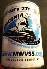 2017 WACONIA RIDE IN COLLECTIBLE OIL CAN SERIES 3 SNO-JET SNOWMOBILES