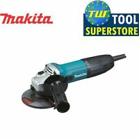 Makita GA4530R/2 Slim Body Corded Angle Grinder Anti Restart 115mm – 240V – 720W
