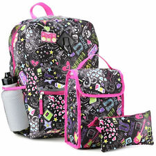 CONFETTI Multi-Color 5 Piece Backpack Set, 100% Polyester