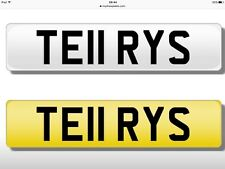 TERRY TELL TERRYS TE11RYS Cherished Private Plate for Sale