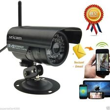 Sricam Outdoor Wireless Wifi Security Webcam IR IP P2P Camera Android System ca2