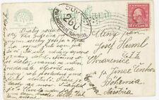 USA MI 224 EF Postcard to Austria