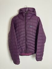 Purple Patagonia Light Puffer Puffa Quilted Jacket Coat Womens Size Large