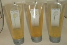 Avon Floral Prints Calla Lily Bath & Shower Gel Lot of 3