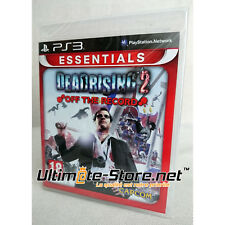 Jeu - DEAD RISING 2 OFF THE RECORD ESSENTIALS - Neuf sous Blister Officiel PS3