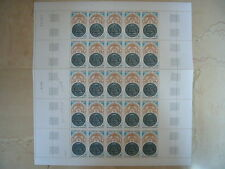 FEUILLET 25 TIMBRES NEUFS FRANCE INVALIDES 40 C. 1974 Y & T N° 1801 TTBE