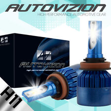 AUTOVIZION LED HID Headlight Conversion kit H11 6000K for 2010-2016 Ram 1500