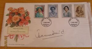 """FDC (First Day Cover) Signed Joanna David *Downton Abbey"""""""