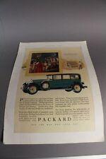 Packard , amerikanisches Kult Auto der 20er Jahre  - Orig. Reklame v. 1927 /S139