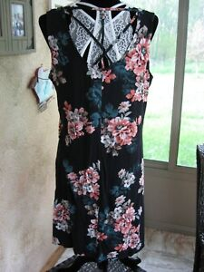 Maurices~New With Tags~Andalusia Blue 24/7 Floral Strappy Back Dress~Size XL- 0X