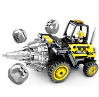Blocksteine Sembo Engineering Bohrer Figur Spielzeug Modell Geschenk Kind 235PCS