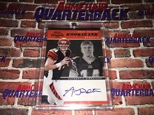 2011 Andy Dalton Playoff Contenders Rookie Ink Autograph Cincinnati Bengals NFL