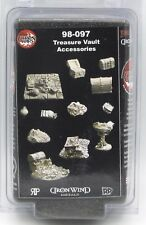 Ral Partha 98-097 Treasure Vault Accessories Chaos Wars Terrain Scenery Chests