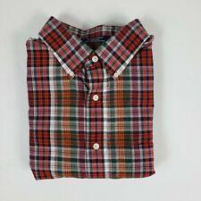 Daniel Cremieux Men Short Sleeve Button Shirt Stone 32B Size M L NEW