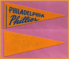 VINTAGE Philadelphia Phillies Baseball Pennant! 1950's WOW!!