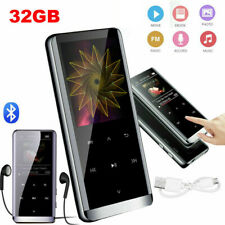 32GB MP3 Player Bluetooth HiFi Bass Musik Spieler 1,8'' LCD Display FM Radio DHL