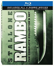 RAMBO: COMPLETE COLLECTOR'S SET (Sylvester Stallone) - BLU RAY - Region A