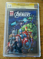 AVENGERS #1 Gillette SS Signed by Stan Lee Autograph CGC 9.8