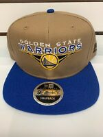 New Era 9fifty Snapback Golden State Warriors Hat NBA High Crown Cap SnapBack